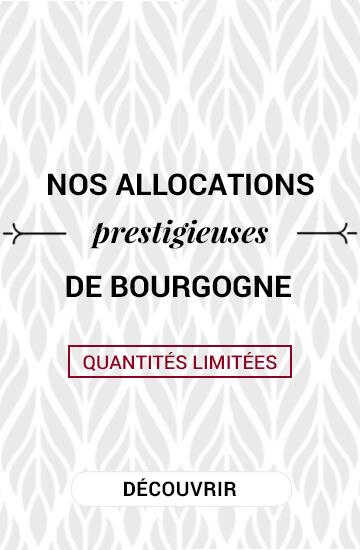 Nos allocations prestigieuses de Bourgogne