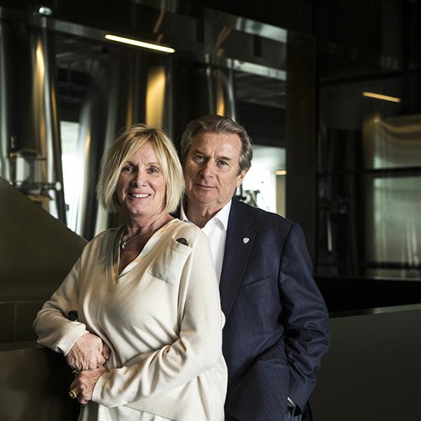 Françoise et Jacky Lorenzetti