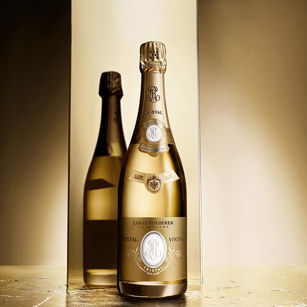 La Cuvée Cristal du Champagne Louis Roederer
