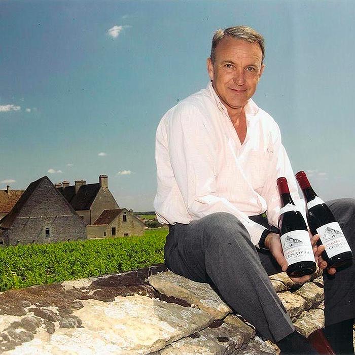 François Labet dans son vignoble