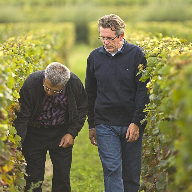 Alain Moueix et Laurent Nougaro