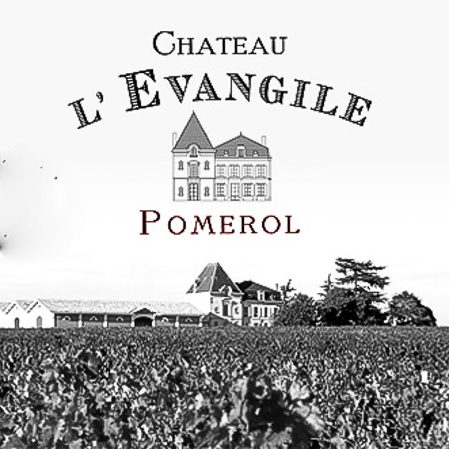 Etiquette du cru du Château l'Evangile