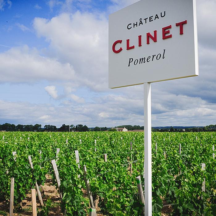 Vignes du Château Clinet
