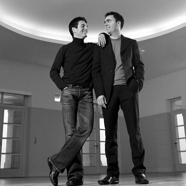 Ludovic et Julien Meffre