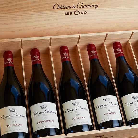 le cinq : vin du chateau de chamirey