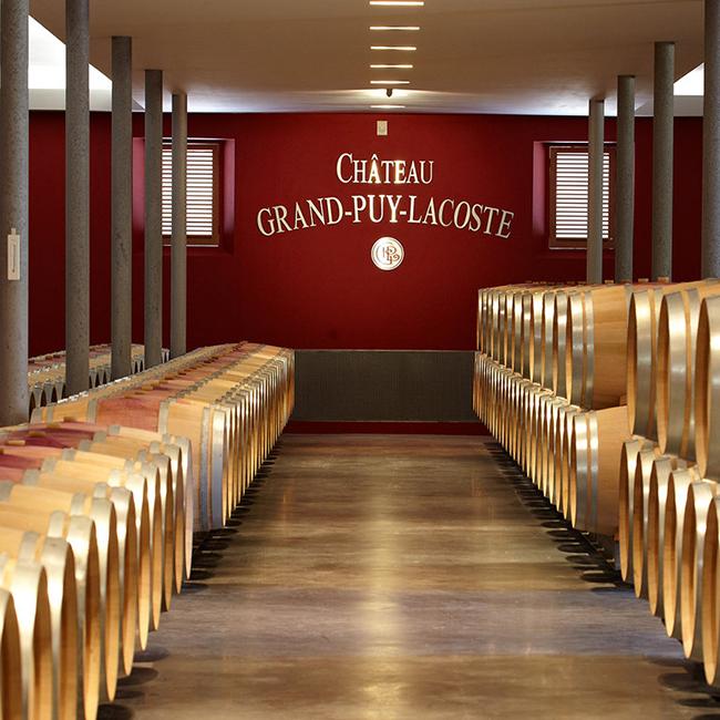 Chai neuf du Château Grand-Puy-Lacoste