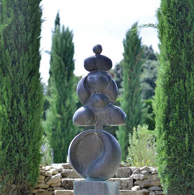 L'art est partout au Domaine de Trévallon