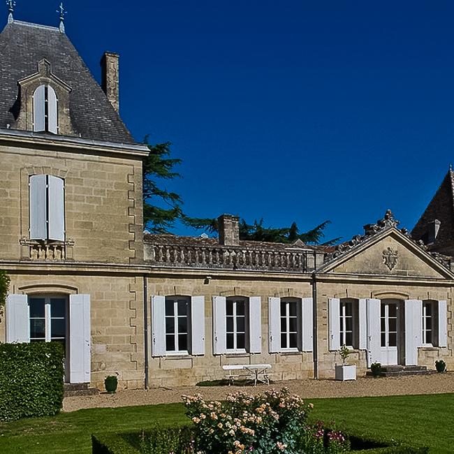 Bâtisse du Vieux Château Certan en pierres apparentes