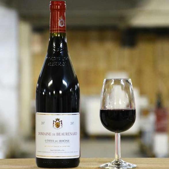 vin domaine Beaurenard